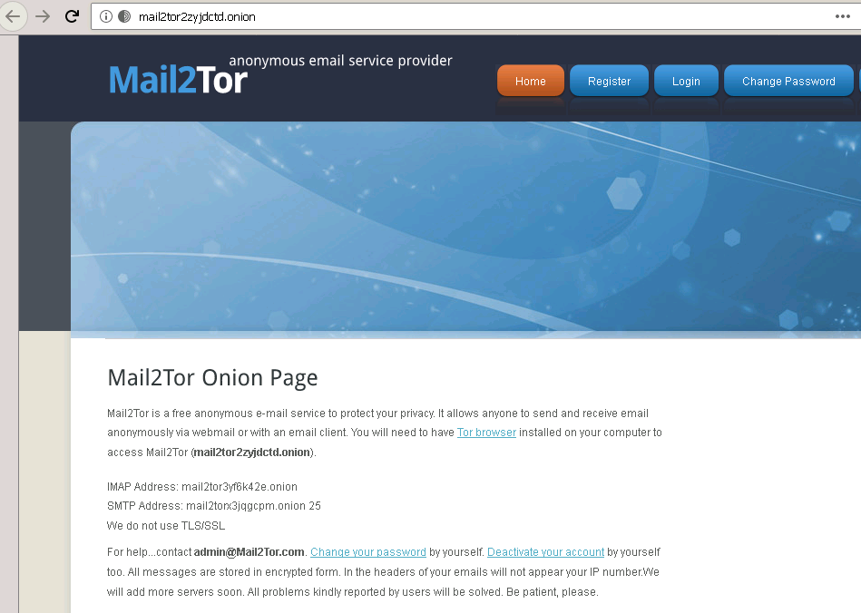Mail2Tor
